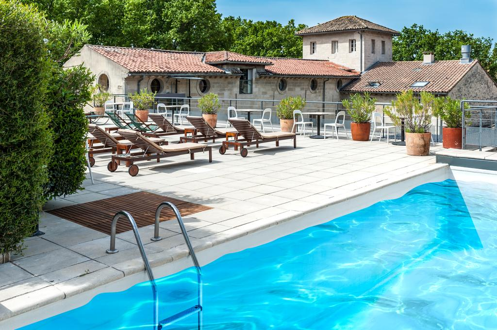Swimming Pool Cloitre Saint Louis Hotel Avignon