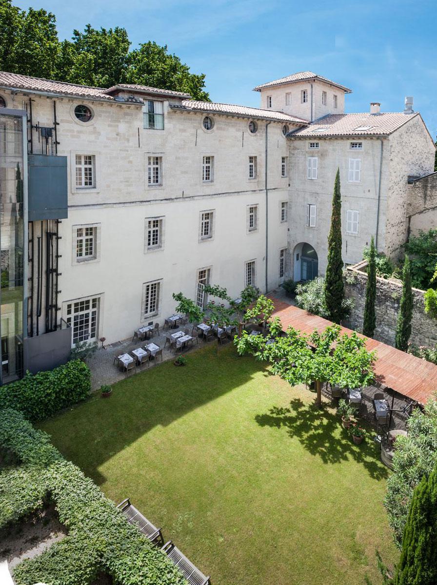 jardin Hotel Cloitre Saint Louis Avignon