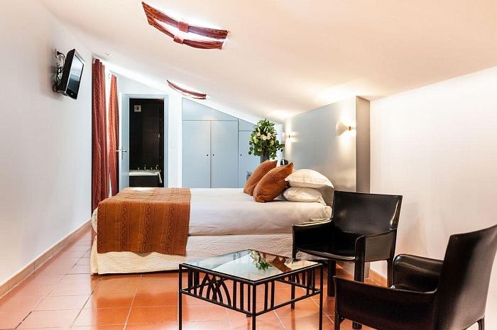 Chambre Deluxe - Hôtel Cloître Saint-Louis Avignon