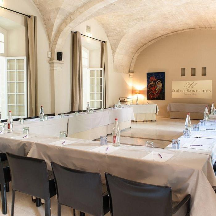 Séminaires Avignon hôtel Cloitre Saint-Louis